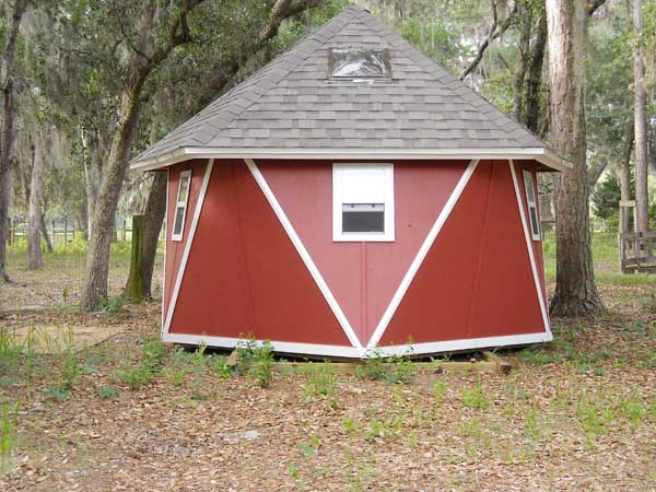 Finished Dome Barn