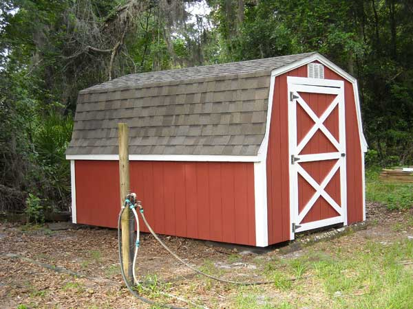 Farm Storage Shed – After Repair and Restoration – very pleased customer!